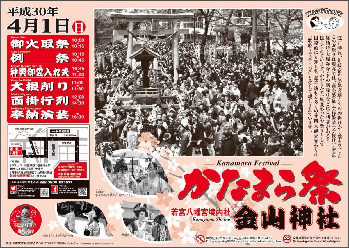 かなまら祭り2018